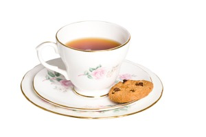 A good host offers tea and biscuits.