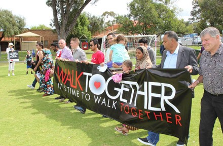 Walk Together 123